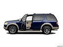 2006 Ford Explorer Eddie Bauer, driver's side profile with drivers side door open.