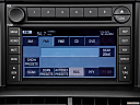 2006 Ford Explorer Eddie Bauer, closeup of radio head unit