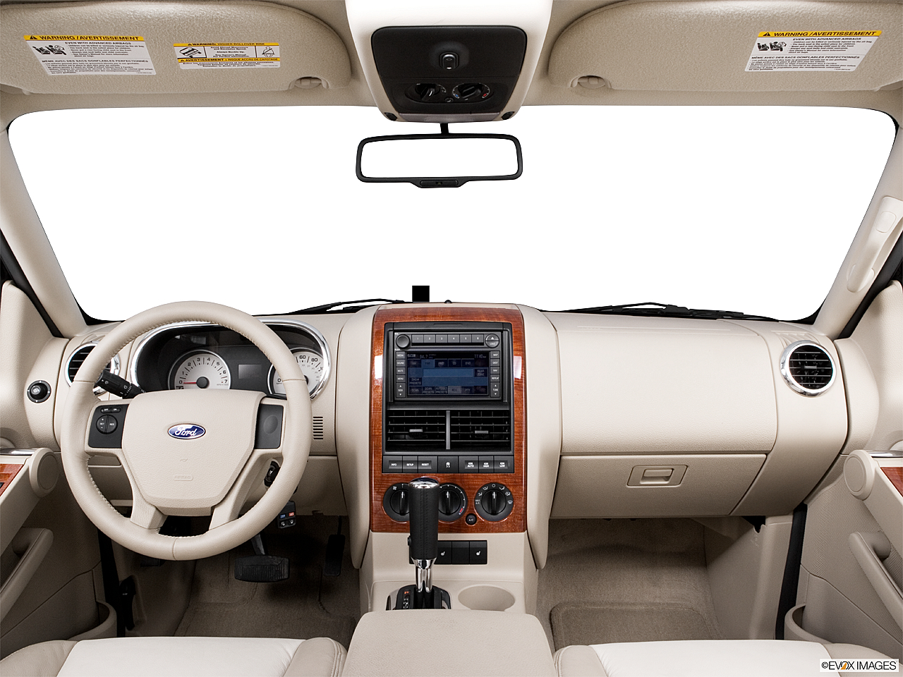 2006 ford explorer eddie bauer centered wide dash shot