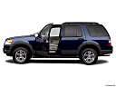 2006 Ford Explorer XLT, driver's side profile with drivers side door open.