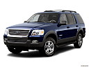 2006 Ford Explorer XLT, front angle medium view.
