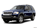 2006 Ford Explorer XLT, front angle view, low wide perspective.