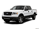 2006 Ford F-150 FX4, front angle medium view.