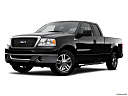 2006 Ford F-150 Lariat, front angle medium view.