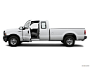 2006 Ford F-250 SD XL, driver's side profile with drivers side door open.