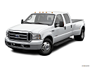 2006 Ford F-350 SD DRW Lariat, front angle view.
