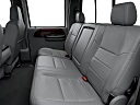 2006 Ford F-350 SD DRW Lariat, rear seats from drivers side.