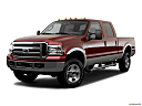 2006 Ford F-350 SD Lariat, front angle medium view.