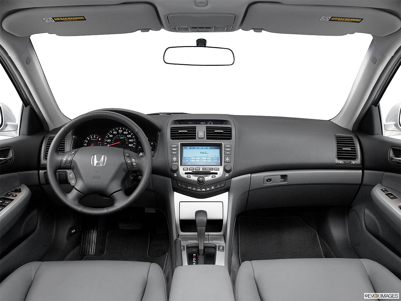2006 Honda Accord Hybrid Centered Wide Dash Shot
