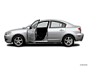 2006 Mazda MAZDA3 i Touring, driver's side profile with drivers side door open.