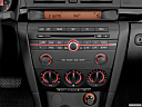 2006 Mazda MAZDA3 i Touring, closeup of radio head unit