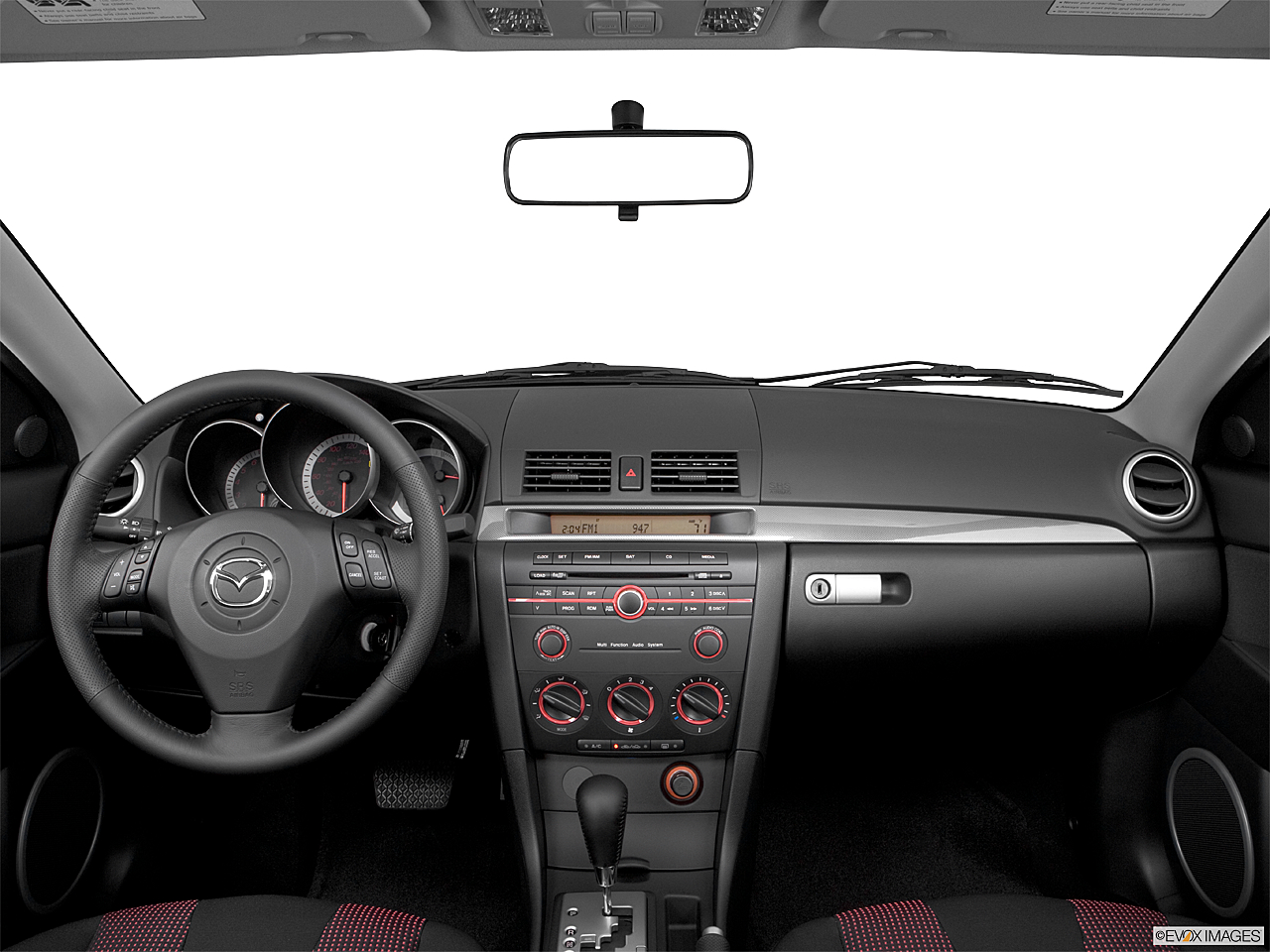 2006 Mazda MAZDA3 s Touring, centered wide dash shot