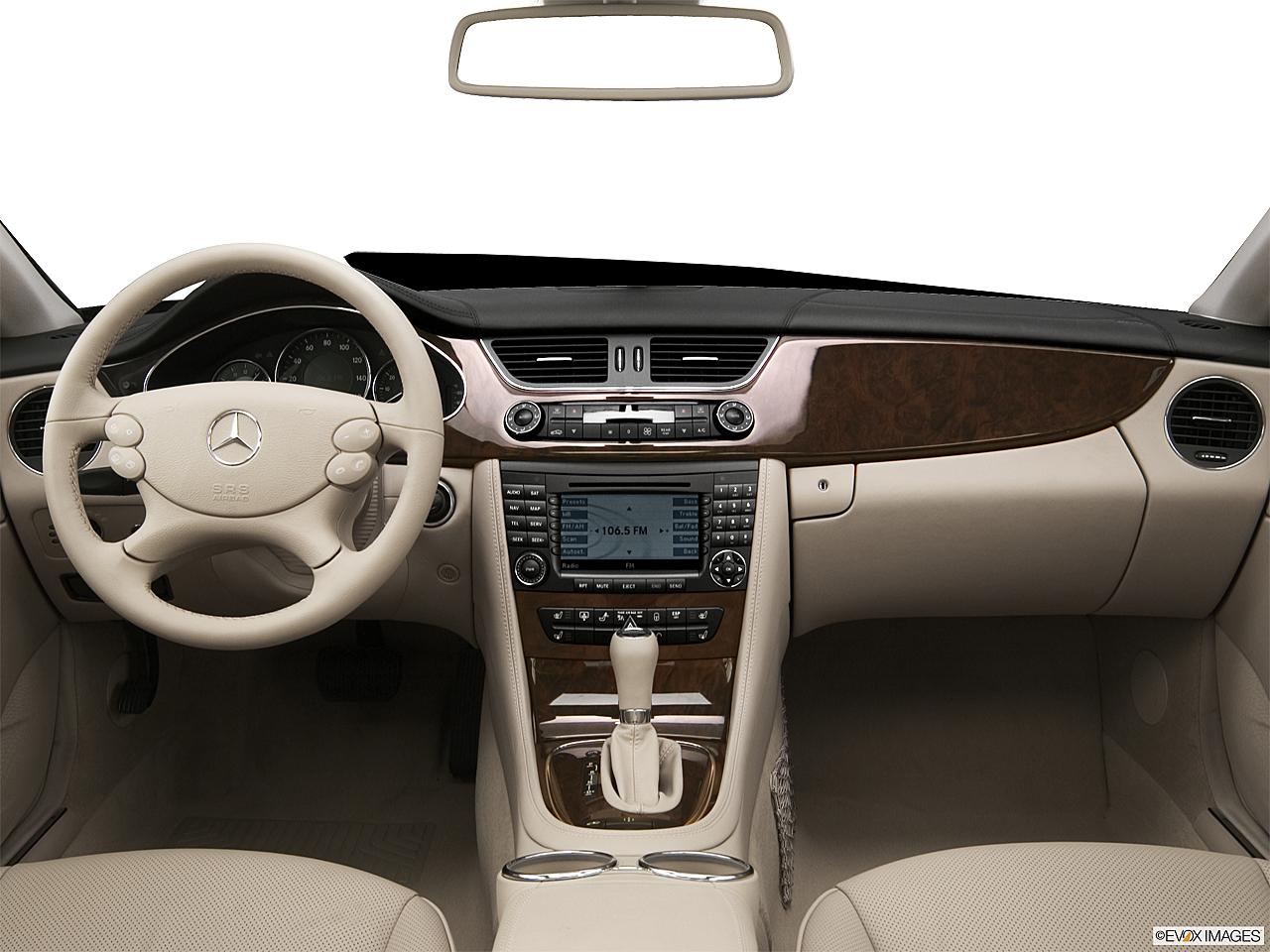 2006 Mercedes Benz Cls 500 4dr Sedan Research Groovecar Class Cls500 Centered Wide Dash Shot