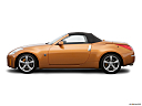 2006 Nissan 350Z Roadster Grand Touring, drivers side profile, convertible top up (convertibles only).