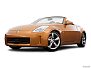 2006 Nissan 350Z Roadster Grand Touring, front angle view, low wide perspective.