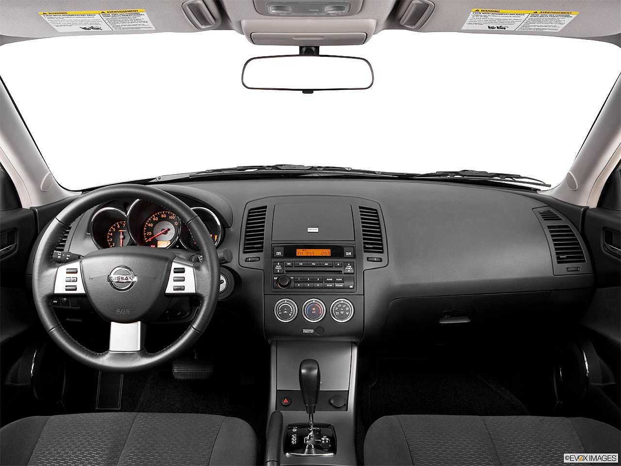 2006 Nissan Altima 3.5 SE, centered wide dash shot