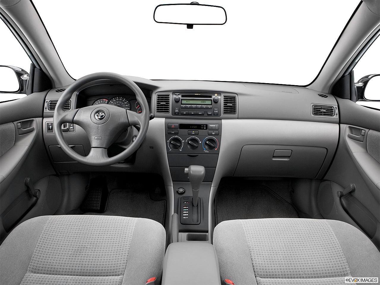 2006 Toyota Corolla Ce Centered Wide Dash Shot