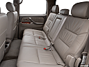 2006 Toyota Tundra Limited, rear seats from drivers side.