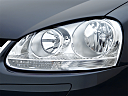 2006 Volkswagen Jetta Value Edition, drivers side headlight.