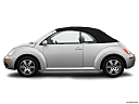 2006 Volkswagen New Beetle 2.5, drivers side profile, convertible top up (convertibles only).