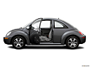2006 Volkswagen New Beetle 2.5, driver's side profile with drivers side door open.