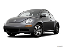 2006 Volkswagen New Beetle 2.5, front angle view, low wide perspective.