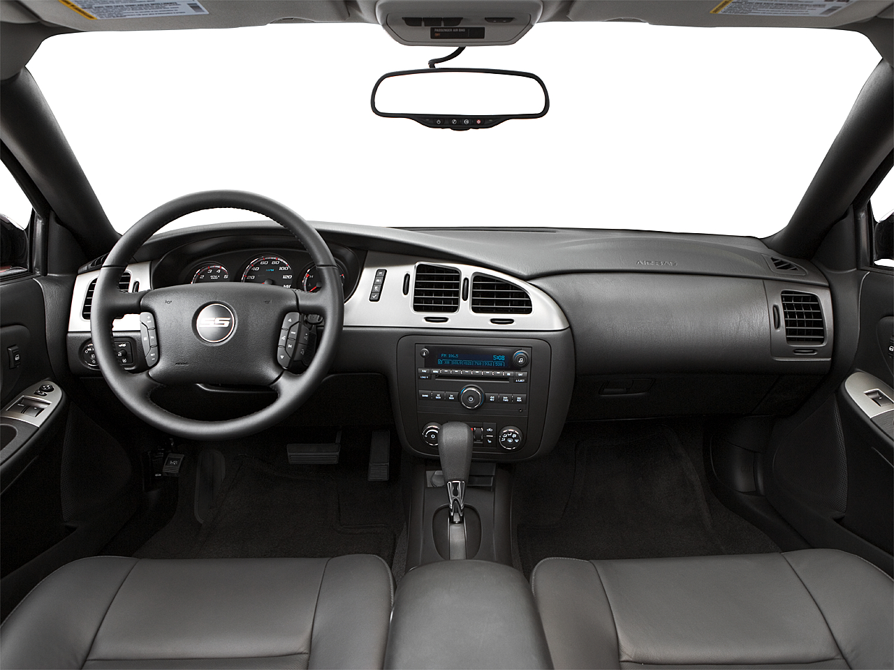 2007 Chevrolet Monte Carlo SS, Centered Wide Dash Shot