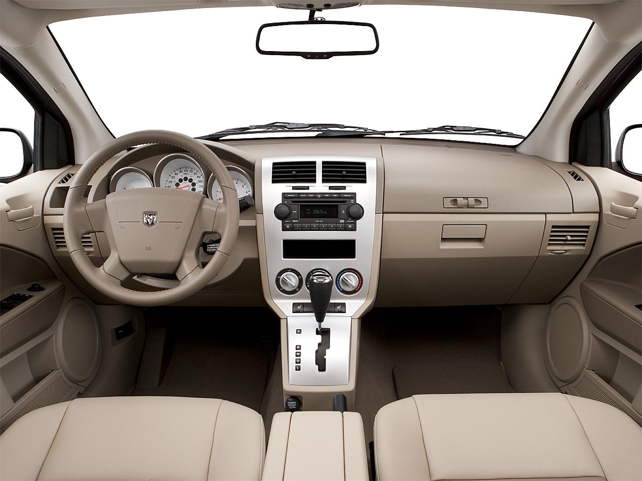 2007 Dodge Caliber SXT, centered wide dash shot