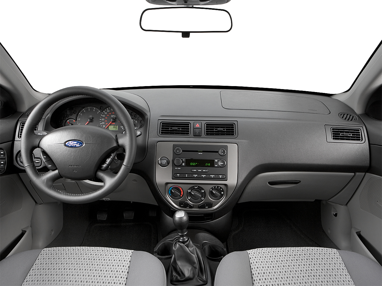 2007 ford focus ses centered wide dash shot