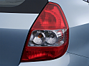 2007 Honda Fit, passenger side taillight.
