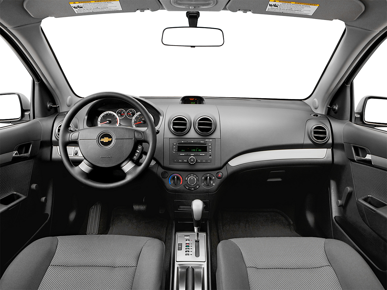 2008 Chevrolet Aveo LS, Centered Wide Dash Shot