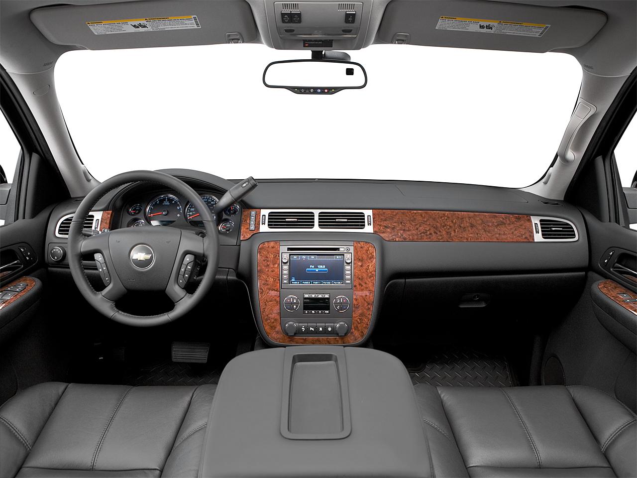2008 Chevrolet Silverado 1500 Ltz Centered Wide Dash Shot