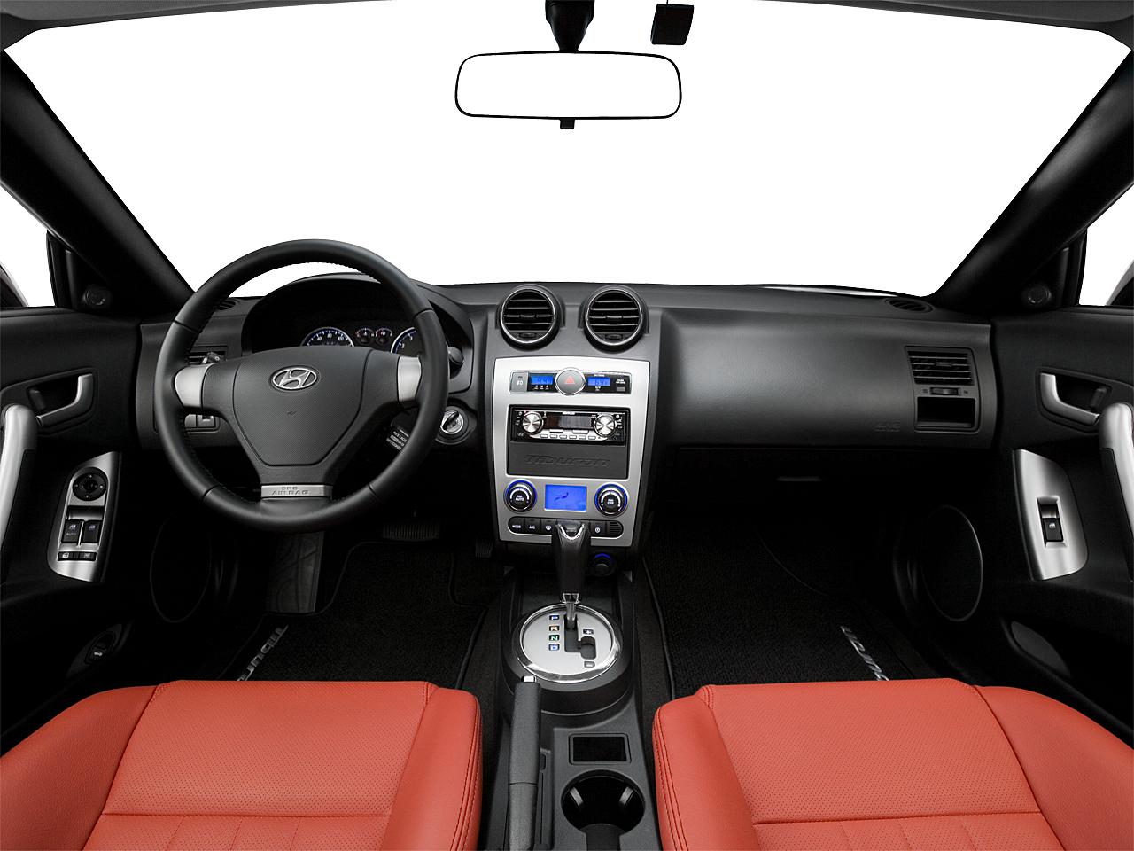 2008 Hyundai Tiburon GT Limited Centered Wide Dash Shot