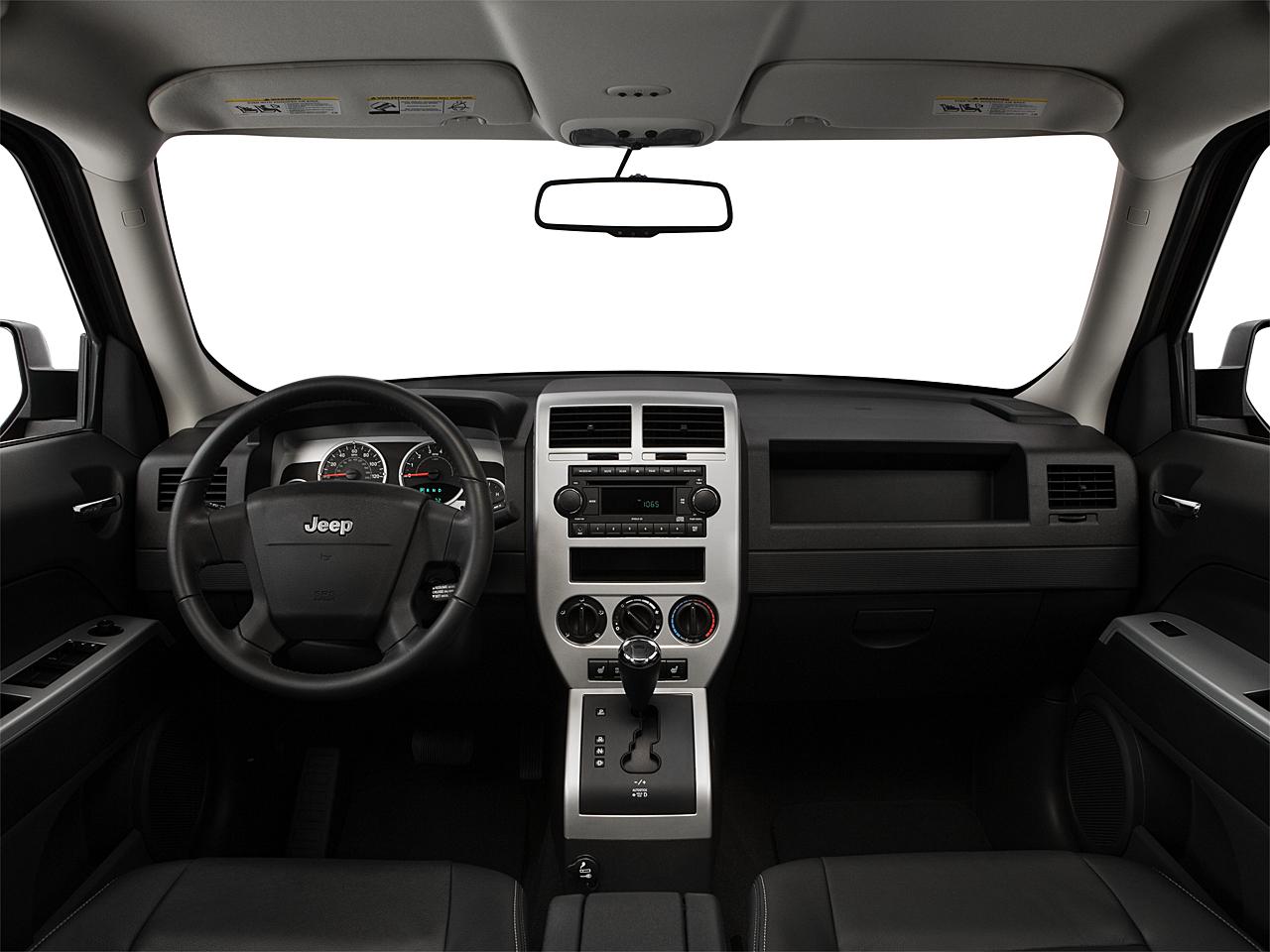 2008 Jeep Patriot Limited, Centered Wide Dash Shot