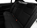 2008 Pontiac G8 GT, rear seats from drivers side.