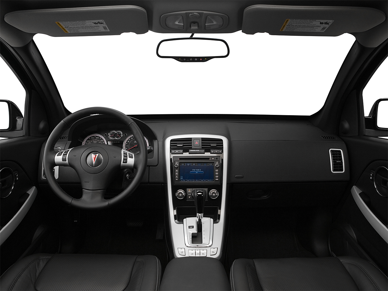 2008 Pontiac Tor Gxp Centered Wide Dash Shot
