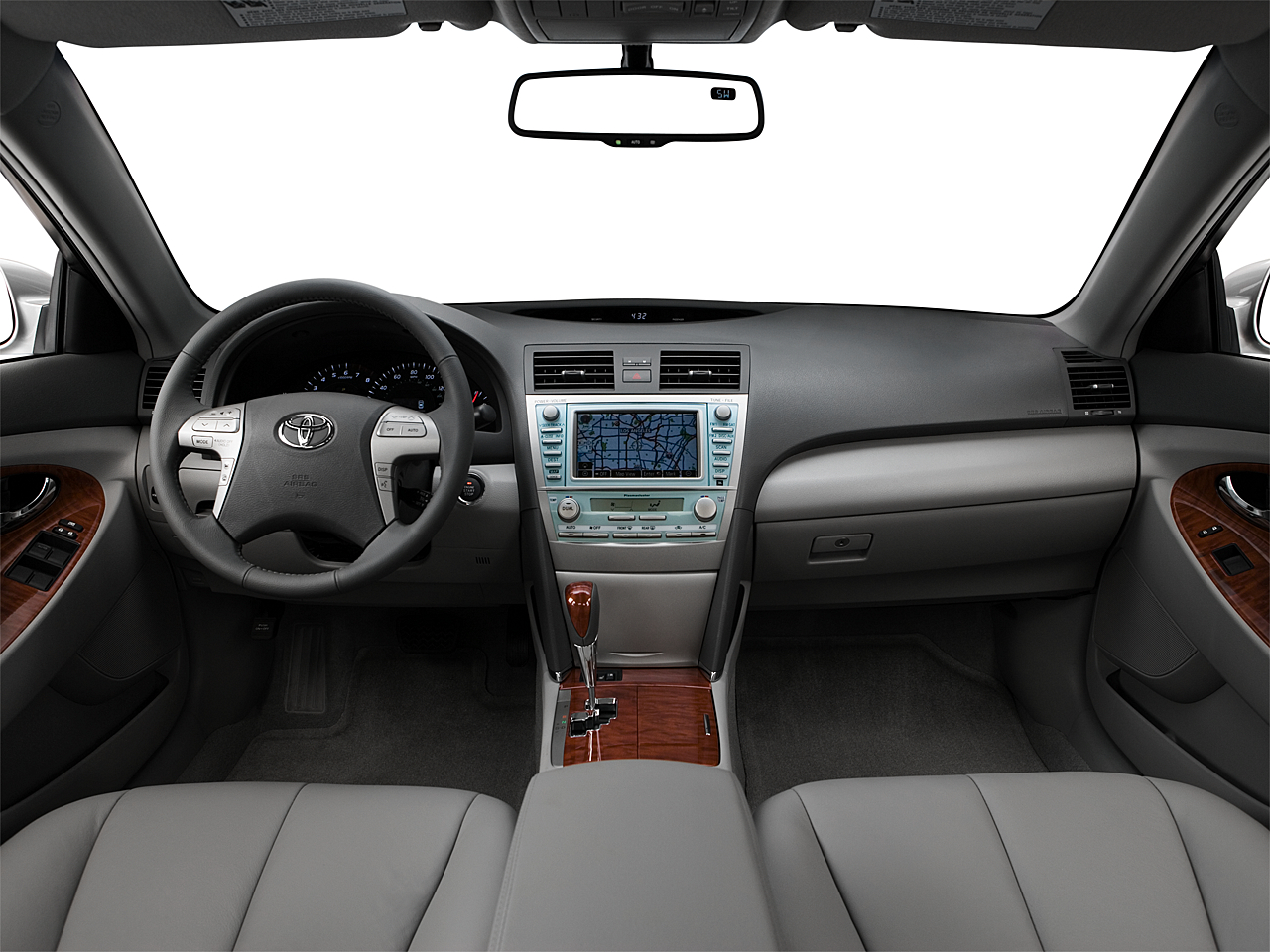 2008 Toyota Camry XLE, Centered Wide Dash Shot