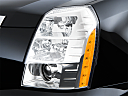2009 Cadillac Escalade Hybrid, drivers side headlight.