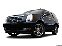 2009 Cadillac Escalade Hybrid, front angle view, low wide perspective.