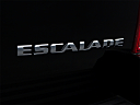 2009 Cadillac Escalade Hybrid, rear model badge/emblem
