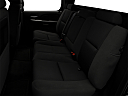 2009 Chevrolet Avalanche LS, rear seats from drivers side.