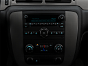 2009 Chevrolet Avalanche LS, closeup of radio head unit