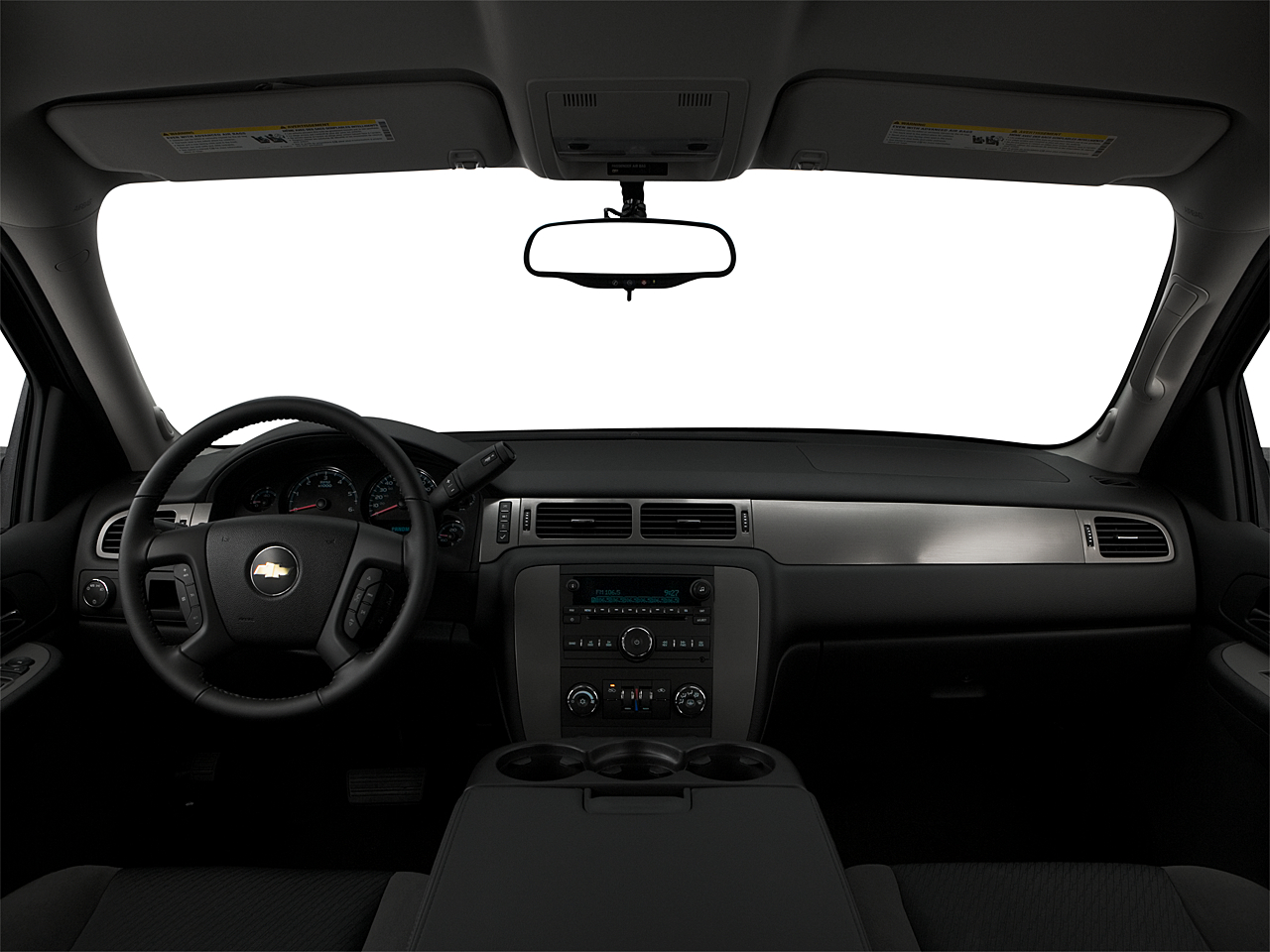 2009 Chevrolet Avalanche LS, centered wide dash shot