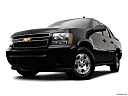2009 Chevrolet Avalanche LS, front angle view, low wide perspective.
