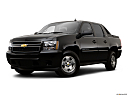 2009 Chevrolet Avalanche LS, front angle medium view.