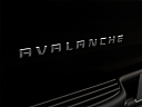 2009 Chevrolet Avalanche LS, rear model badge/emblem
