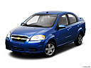 2009 Chevrolet Aveo LT, front angle view.