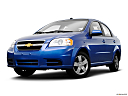 2009 Chevrolet Aveo LT, front angle view, low wide perspective.