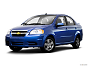 2009 Chevrolet Aveo LT, front angle medium view.