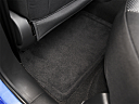 2009 Chevrolet Aveo LT, rear driver's side floor mat. mid-seat level from outside looking in.